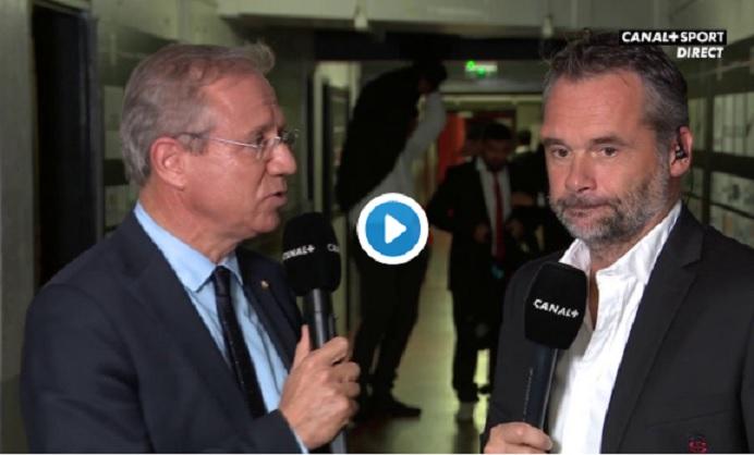 VIDÉO : Écarté du groupe France, Thomas Ramos termine le match...