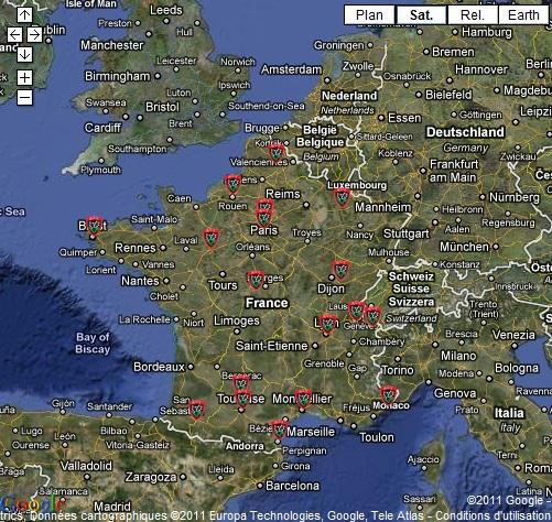 Carte De La France Entiere | popkensburg