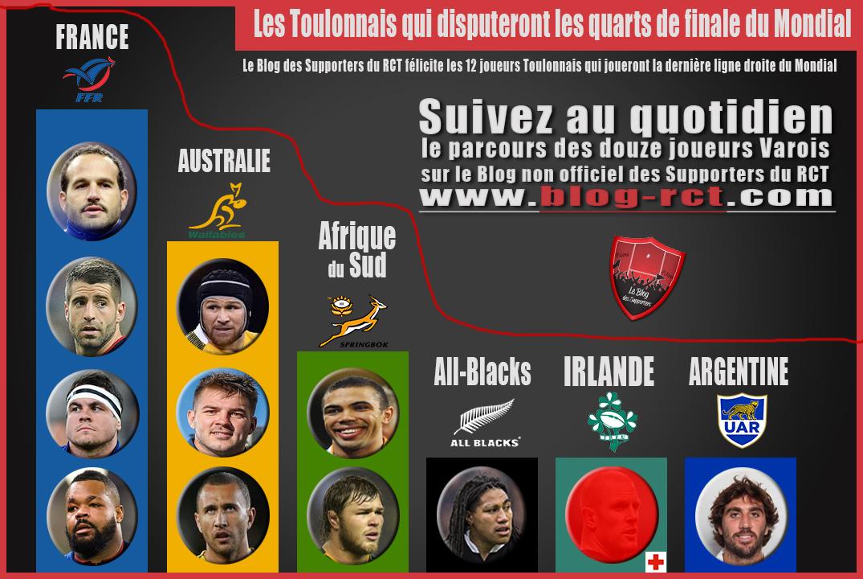 Le blog des supporters du rct l 39 actualit rct au quotidien - Quart de finale coupe du monde 2015 ...
